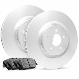 For 2011-2018 QX56, QX80, Armada Front OE Blank Brake Rotors+Ceramic Pads
