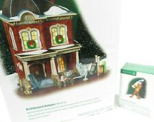 Department 56 Set (2) Architectural Antiques Christmas in the City (58927) Euc