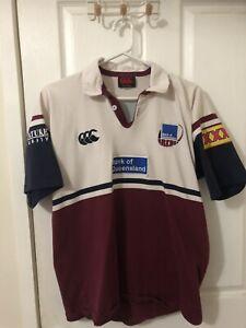 Vintage Queensland Reds Canterbury Jersey. Size L