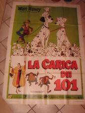 MANIFESTO,La carica dei 101 ,One Hundred and One Dalmatians,WALT DISNEY
