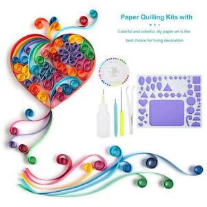 Paper Quilling DIY Tool Template Mould Board Tweezer Needles Pen Gift Decoration