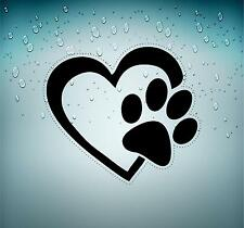 Sticker car moto biker bomb laptop decal bumper paw heart dog cat r2
