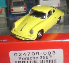 HERPA 343121 PETIT VOITURE ANTIQUE PORSCHE 356 SPORT CAR SCALE 1:87 HO OCCASION