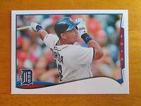 Rare 2014 Topps ERROR - NO NAME - NO FOIL - Miguel Cabrera #149 Detroit Tigers