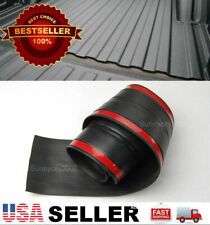 6' Rubber Truck Bed Tailgate Gap Cover Filler Seal Shield Lip Cap For Ford Dodge
