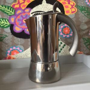 Giannini Stovetop Coffee Maker Made In Italy Designer Bruno Sambinelli