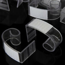 "100 SUPER, LARGE TABLE SKIRT CLIPS, GENUINE VELCRO®, FITS TABLE 1 1/2"" TO 2 1/2"""