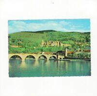 AK Ansichtskarte Heidelberg / Schloss und Alte Neckarbrücke - 1965
