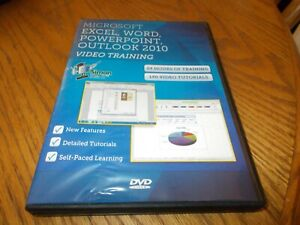 MICROSOFT EXCEL, WORK POWERPOINT, OUTLOOK 2010 DVD