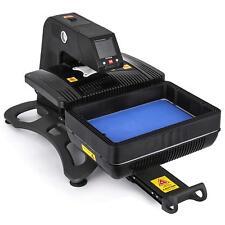 3D Sublimation Vacuum Heat Press Machine Auto Open Pneumatic T-Shirt Phone Cases