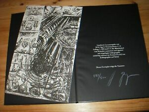 HR Giger Alien Necronomicon I + II, 1984 first limited de Luxe edition signed !!