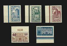 KG10 - GERMANY Deutsche Reich DANZIG1936 set with margins MNH 2 scans