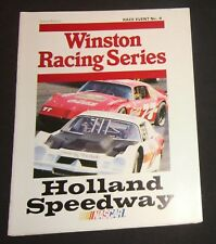 1982 Holland NY Speedway Event #4 Program