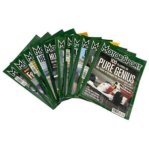 MotorSport Magazine 2002 Lot Bundle of 12 Issues Complete Full Year