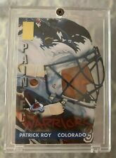 1996-97 PATRICK ROY Donruss Elite Painted Warriors #1 of 10  Serial #1272/2500