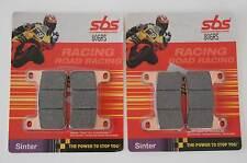 SBS 806 RS PASTIGLIE sinterizzati RACING SUZUKI GSX-R ANTERIORE RACING BRAKE PADS FRONT