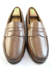 "Allen Edmonds ""Cavanaugh"" Penny Loafers 10.5 D Coffee  (249)"