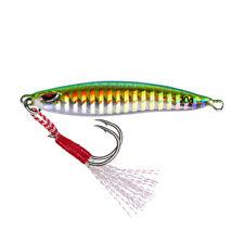1pc Metal Jig Fishing Lure 20g Vertical Jigging Spoon Hard Bait Hook Bass Tuna