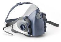 3M 7501/37081(AAD) Half Facepiece Reusable Respirator, Small