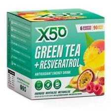 Green Tea X50 90 SRV Six Assorted Flavours Fat Burner