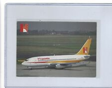 Hispania Lineas Aéreas airlines issued boeing 737 cont/l postcard