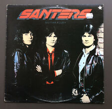 SANTERS - Guitar Alley Vinyl LP Record Very Good 1984 Original Aus Pressing