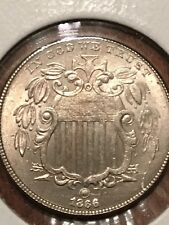 1866/1866 Repunched Date Shield Nickel Fletcher-15