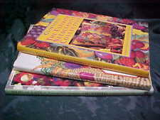 New ListingLot of 3 Needlepoint books with charted patterns, hardback
