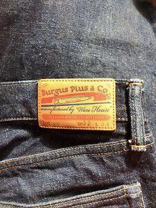 Burgus Plus X Warehouse Japanese Made 14.5Oz Selvage Denim Jeans