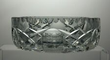 LEAD CRYSTAL CUT GLASS BOWL