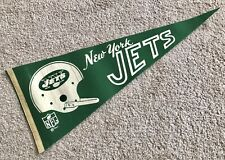 1967 NFL New York Jets Vintage Flag.