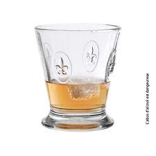 La Rochère  Fleur de Lys | Verre à whisky - gobelet à eau 25cl - Lot de 6