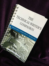The Technical Writer's Companion by Gerald J. Alred, Charles T. Brusaw and.