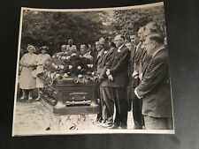 1961 TY COBB FUNERAL (VERY RARE) ORIGINAL WIRE PHOTO