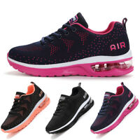 Women's Athletic Air Cushion Jogging Sneakers Breathable Sports Running Shoes