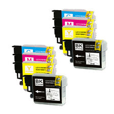 8 PK Ink Cartridges Compatible for Brother LC61 MFC J220 J265W J270W J410W
