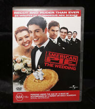 American Pie - The Wedding (DVD, 2004) Region 2 & 4