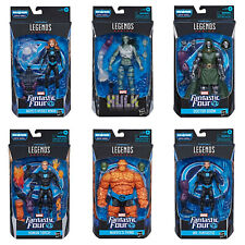 Marvel Legends Fantastic 4 Wave 1 (SUPER SKRULL BAF) - Set of 6