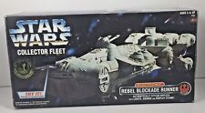 Star Wars Collector Fleet Electronic Rebel Blockade Runner Orig Box Kenner 1996
