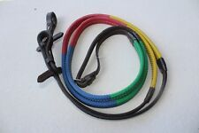 Brand New ENGLISH TRAINING REINS Multi-colored english training reins