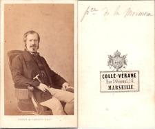 CDV Mayer & Pierson, Marquis de la Marmora, homme d'Etat italien, Risorgime