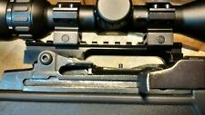 Ruger Mini 14  Rifle Custom Picatinny Rail Scope Base Scope Mount