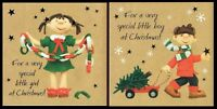 For a very Special Little GIRL / BOY Christmas card Designed By Erica Sturla
