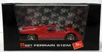 Brumm 1/43 Scale R227 - Ferrari 512M Prototipo 1970 - Red White