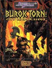 Burok Torn City Under Siege (d20 Generic System), , Good Book