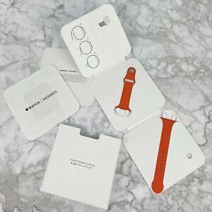 Apple Watch Hermes Hermès Sport Orange Silicone Band 42mm 44mm 1 2 3 4 5 6