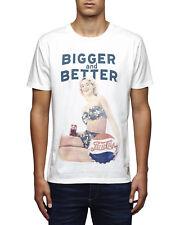 JACK & JONES Pepsi Tee Cloud Dancer  T-Shirt Bianca Con Stampa Pepsi Cola 1