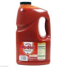 Franks Original Red Hot Hot Sauce 1 Gallon SAUCE Marinades Hot Sauce Spices