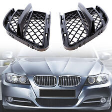2x Front Bumper Lower Fog Light Grille Mesh Grill For BMW E90 325i 328i 335i