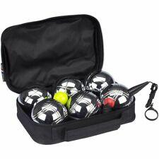 Get & Go Spiel Boule Set V 6 Kugeln Metallkugeln Boulekugeln Petanque Boccia